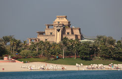 Aquaventure nöjesfält, Dubai Royaltyfri Fotografi