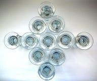 Aquavit glasses Royalty Free Stock Photos