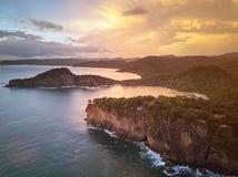 Aquawellness semesterort i Nicaragua royaltyfri bild