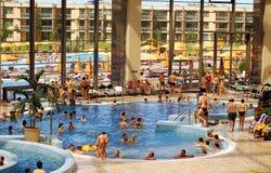 AquaWorld, inneres Pool Stockfoto