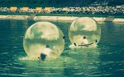 Aquazorbing Στοκ Εικόνες