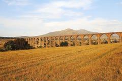 Aquädukt der Feldgeistlichen Tembleque XI Stockbilder