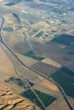 Aquädukt von der Luft Stockfotos