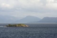 Contraste da ilha Fotos de Stock