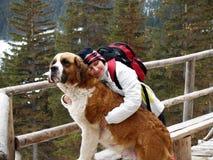 Aqueça o hug Foto de Stock Royalty Free