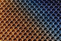 Aqueça para refrigerar cores no gelo Diamond Patterns Fotografia de Stock
