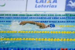 Aquece Ρίο - ανοικτό πρωτάθλημα Paralimpica κολύμβησης Στοκ Εικόνες
