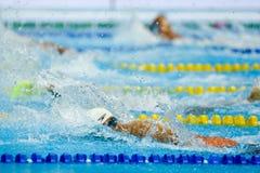 Aquece Ρίο - ανοικτό πρωτάθλημα Paralimpica κολύμβησης Στοκ εικόνα με δικαίωμα ελεύθερης χρήσης