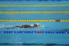 Aquece Ρίο - ανοικτό πρωτάθλημα Paralimpica κολύμβησης Στοκ Φωτογραφία