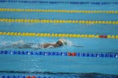 Aquece Río - campeonato abierto Paralimpica de la natación imagenes de archivo