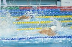 Aquece Rio de Janeiro - öppen mästerskap Paralimpica för simning Fotografering för Bildbyråer