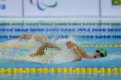 Aquece Rio de Janeiro - öppen mästerskap Paralimpica för simning Royaltyfri Bild