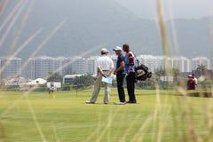 Aquece Rio Golf Challenge - provhändelse för Rio de Janeiro 2016 Arkivbilder