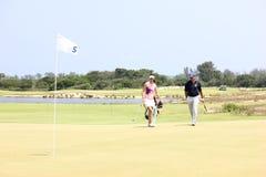 Aquece Rio Golf Challenge - Rio 2016 Test Event. Rio de Janeiro, RJ, Brazil, March 8, 2016: Test Event for the 2016 Olympic Games - Aquece Rio Golf Challenge is Stock Image