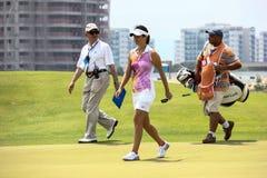Aquece Rio golfa wyzwanie - Rio 2016 Próbny wydarzenie zdjęcia royalty free
