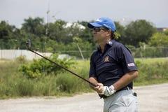 Aquece Rio golfa wyzwanie - Rio 2016 Próbny wydarzenie obraz royalty free