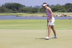 Aquece Rio golfa wyzwanie - Rio 2016 Próbny wydarzenie obrazy royalty free