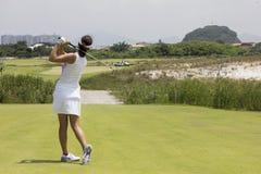 Aquece Rio golfa wyzwanie - Rio 2016 Próbny wydarzenie zdjęcia stock