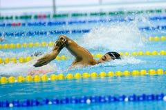 Aquece Rio - Schwimmen-offene Meisterschaft Paralimpica Stockfoto