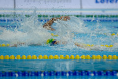 Aquece Rio - Swimming Open Championship Paralimpica Royalty Free Stock Photos