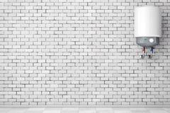 Aquecedor de água automático moderno rendição 3d ilustração do vetor
