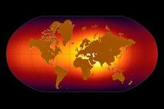 Aquecimento global Fotografia de Stock