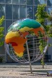 Aquecimento global - globo do clima Fotografia de Stock Royalty Free