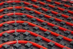 Aquecimento Underfloor Foto de Stock