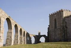 Aquedotto & monastero Fotografia Stock