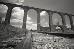 Aquedotto coloniale Immagine Stock