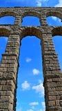 Aquedotto della Spagna Segovia (5) fotografia stock libera da diritti
