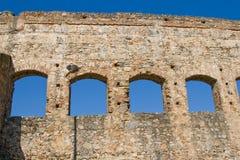 Aquedotto della st Lazaro di Merida - Emerita Augusta Fotografia Stock