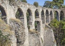 Aquedotto di Kizilcullu (K?z?lçullu) Fotografia Stock Libera da Diritti