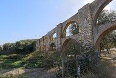 Aquedotto di Oeiras Arneiro immagini stock libere da diritti