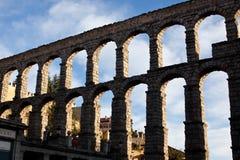 Aquedotto di Segovia Fotografia Stock