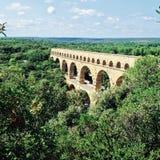 Aquedotto romano Fotografia Stock