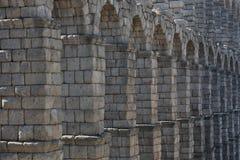 Aquedotto romano antico Fotografia Stock