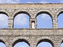 Aquedotto romano di Segovia Fotografia Stock