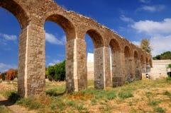 Aqueduc antique Photos libres de droits