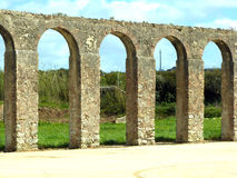 Aqueduc antique dans Obidos, Portugal Images stock