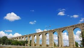 aqueduc antique Evora romain Photographie stock libre de droits