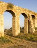 Aqueduc d'acre Images libres de droits