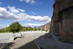 Aqueduc d'Amoreira dans Elvas, Portugal Image libre de droits