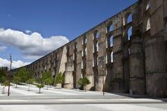 Aqueduc d'Amoreira dans Elvas, Portugal Photos libres de droits