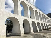 Aqueduc d'Arcos DA Lapa Carioca image stock