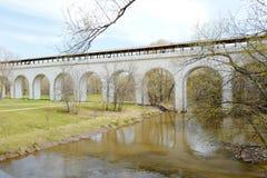 Aqueduc de Rostokinsky, construit 1804 moscou photos stock