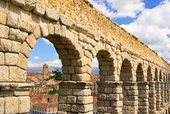 Aqueduc de Segovia Photo stock