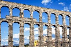 Aqueduc de Segovia Photos stock
