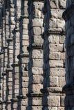 Aqueduc de Segovia Image libre de droits