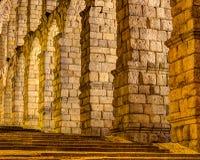 Aqueduc de Segovia, Espagne Images stock